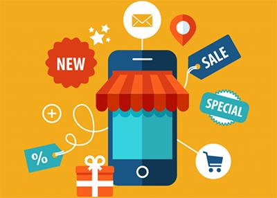 Продажа товаров через мобильные приложения